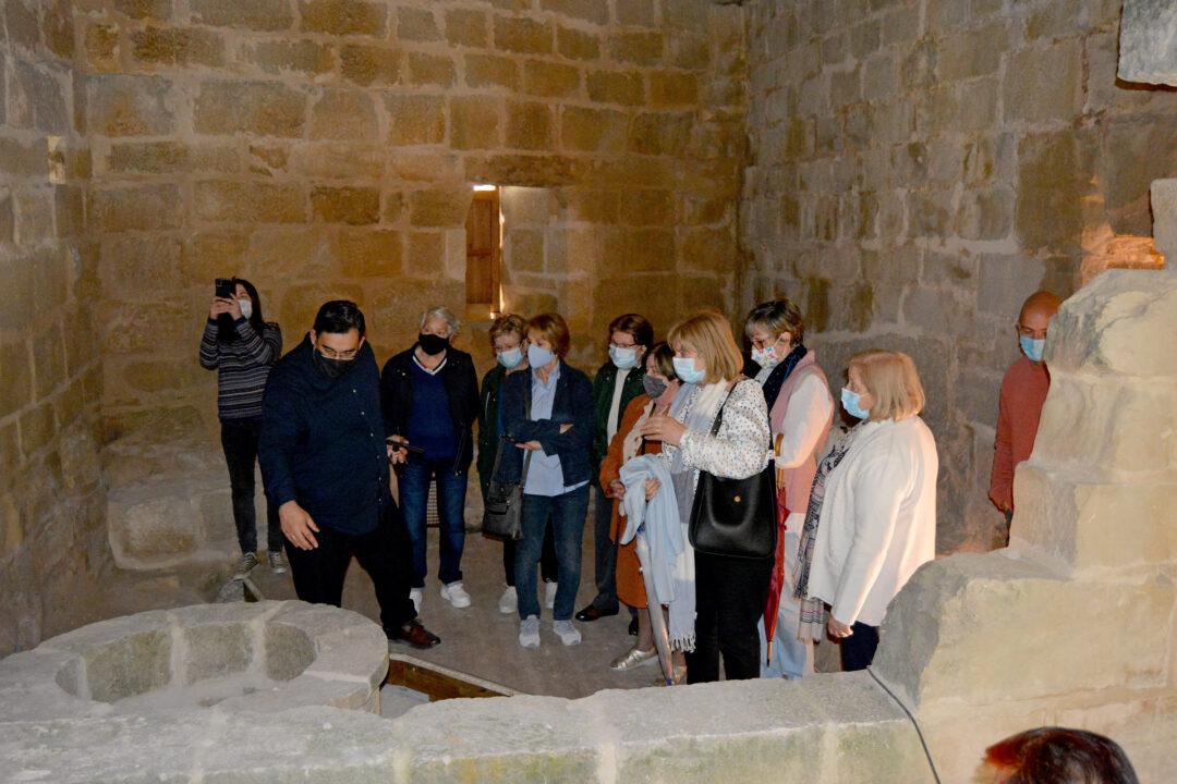 S'ha recuperat el passadís que portava a la despensa i es pot visitar l'antiga nevera.
